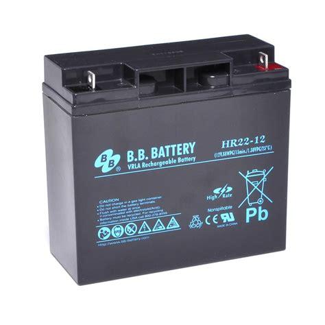 Battery L by 12v 22ah Battery Sealed Lead Acid Battery Agm B B