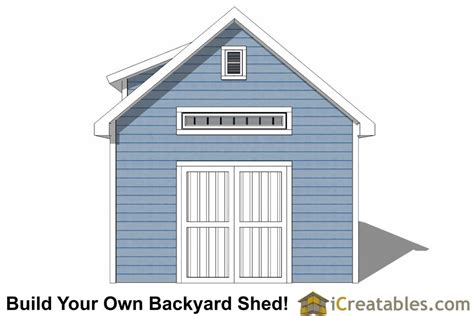 14x16 shed plans with dormer icreatables 14x16 shed plans with dormer icreatables