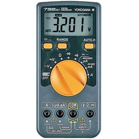 Multimeter Yokogawa jual digital multimeter yokogawa 73204 garansi resmi