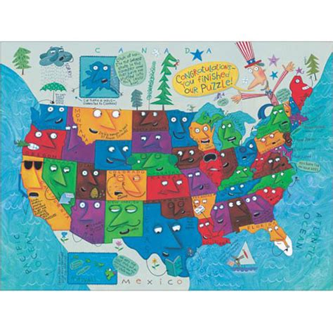 american states puzzle 2 150 the scrambled states of america puzzle book set
