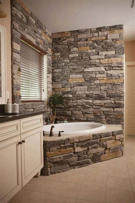 granite bathtub wall surround 33 best interior stone wall ideas and designs for 2018