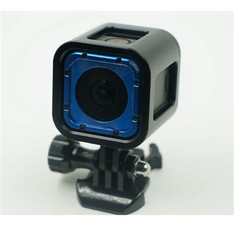Gopro 4 Black Jakarta aluminium side frame for gopro 4 session black