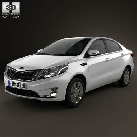 Kia Sedan Models List Kia K2 Sedan 2012 3d Model Hum3d