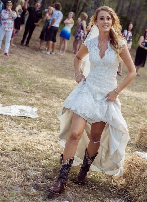 country dresses with boots vintage high low wedding dress v neck capped bridal gown