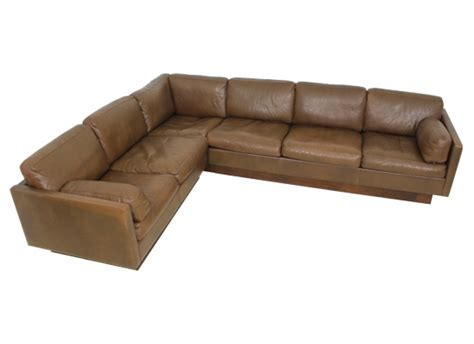 orange and brown sofa danish thams corner sofa orange and brown