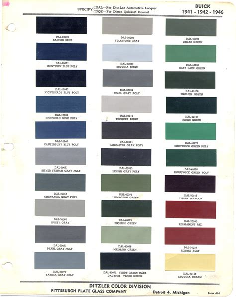 gm color chart for 2014 autos post