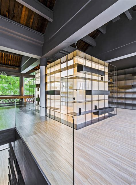 arch studio retail design rongbaozhai coffee bookstore by arch