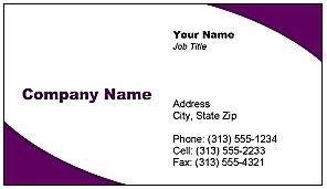 free business card templates for microsoft word for free