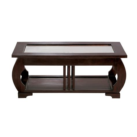 solid mahogany coffee table glass and solid mahogany coffee table w 100cm d 233 co