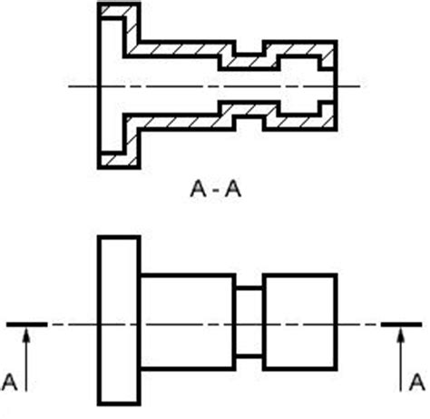 sectional views in machine drawing machine drawing chapter 6