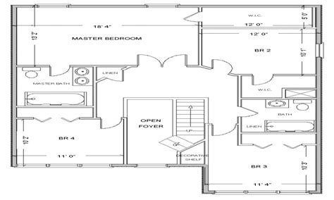 house layouts simple small house floor plans free house floor plan