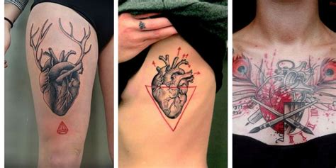 100 lovely heart tattoos and meanings april 2018
