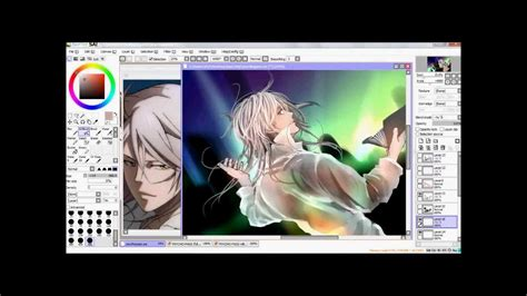paint tool sai 2 vs 1 kogami makishima psycho pass painting on paint tool sai
