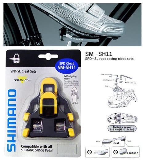 Cleat Balap Shimano Sh 11 shimano sm sh11 spd cleats road bike bicycle