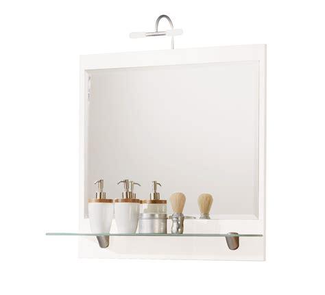 badezimmer 70 cm badezimmer spiegel salona spiegelpaneel mit ablage und