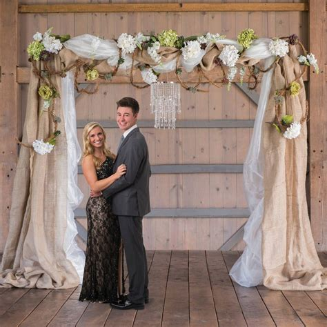The Wire Wedding by Reusable Wire Arch For Fabric Backdrops Tablescapes