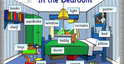 games to play in the bedroom english through games my bedroom vocabulary