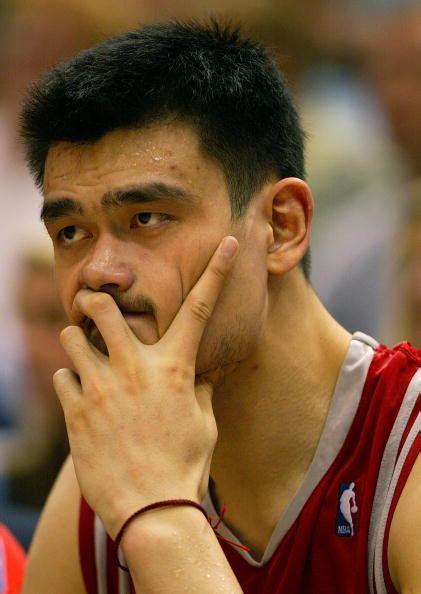 yao ming bench press all quot facial hair quot nba team bleacher report