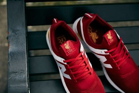 Jual New Balance 247 Lfc lfc and new balance launch footwear range with new trainer liverpool fc