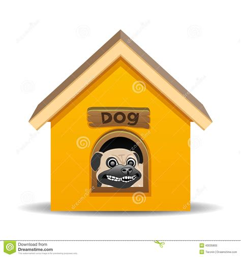 dog house background vector illustration dog house stock vector image 43035805