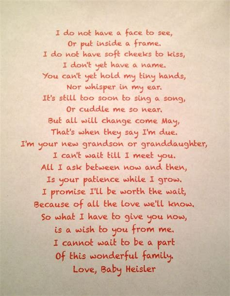 thank you letter to husband during pregnancy 20 pregnancy announcement poems with images