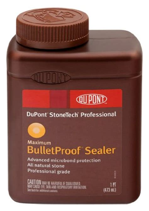 stonetech bulletproof stone sealer