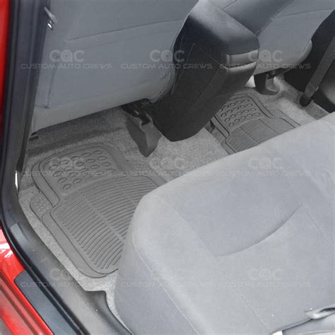 Rubber Utility Flooring by Gray 2pc Rubber Utility Floor Mats For Car Truck Suv