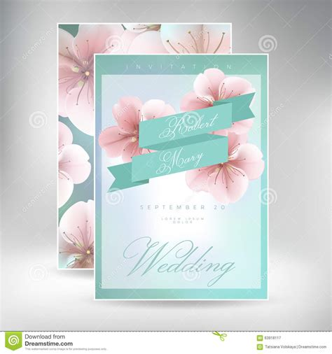 wedding invitation card suite with flower templates free wedding invitation card suite with flower templates