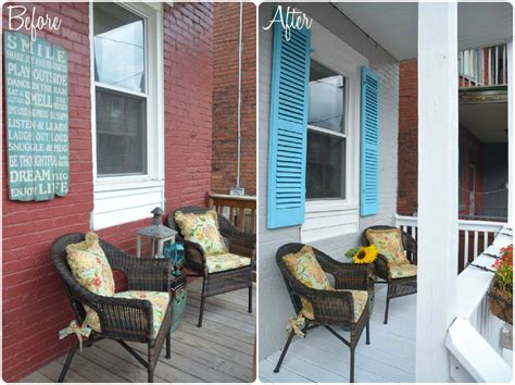 porch reveal  lowes  gift card giveaway
