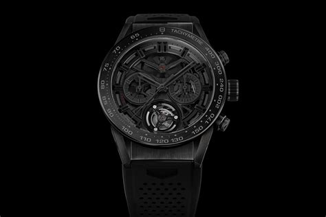 Tagheuer Skeleton Black Tag Heuer Heuer 02t Tourbillon Black Phantom