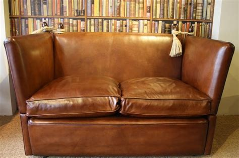 leather knole sofa 2 seater leather knole settee leather chairs of bath