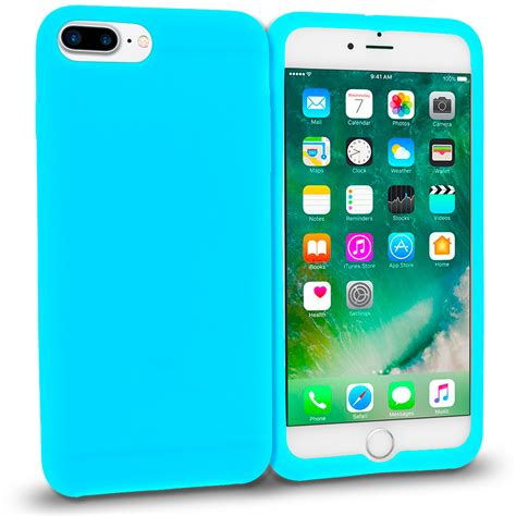 for apple iphone 7 7 plus silicone rubber soft jelly skin cover ebay