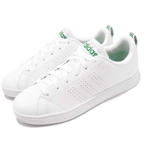 adidas neo label advantage clean vs white green mens casual shoes trainer f99251 ebay