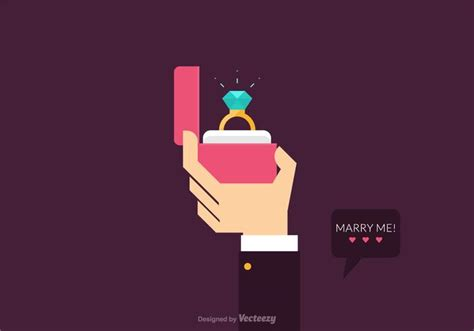 design proposal vector free vector proposal marriage illustration download free