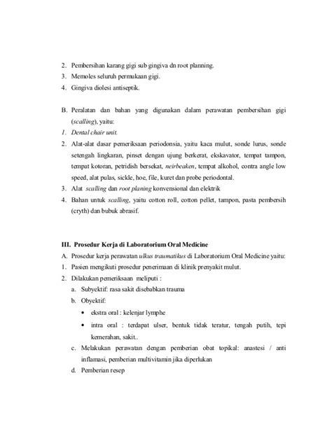Standar Pembersihan Karang Gigi Penilaian Standar Rumah Sakit 11