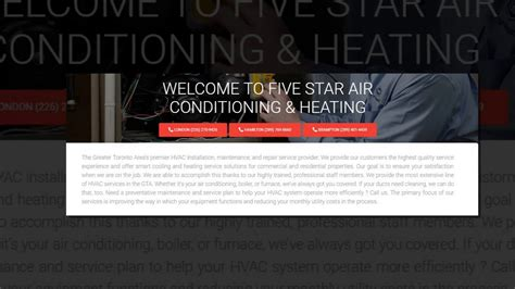 comfort control corporation furnace repair hamilton five star air conditioning