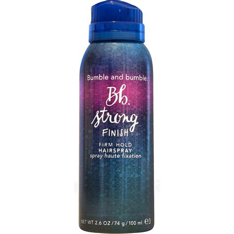 Bumble And Bumble Strength Holding Spray by Bumble And Bumble Strong Finish Firm Hold Travel Hairspray