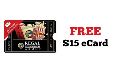 Where Can I Buy Regal Gift Cards - regal cinema get a free 15 gift card southern savers