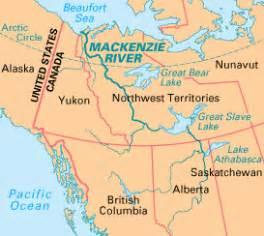 canada map mackenzie river