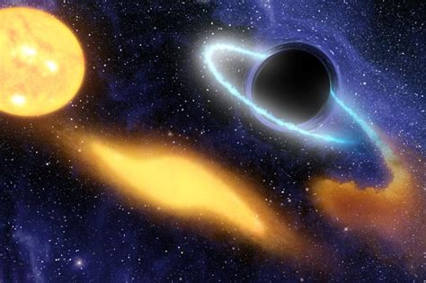 black hole pattern objects may orbit black holes in intricate patterns