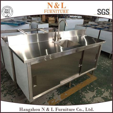 Kabinet Stainless Steel stainless steel bar counter outdoor kitchen restaurant