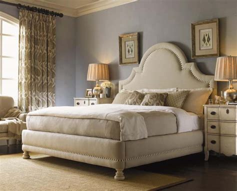 luxury upholstered bed design home gallery design