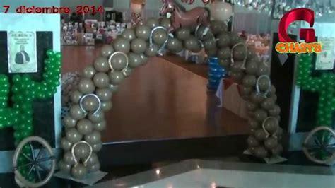youtube comdecoracion de uas vaquero decoracion de vaqueros globos chasty youtube
