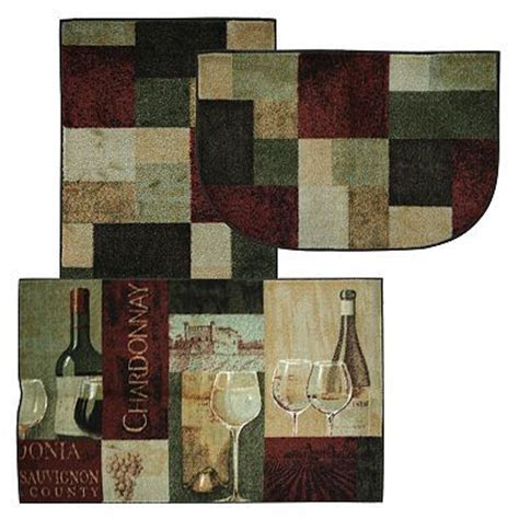 Wine Kitchen Rugs Pin By Miranda Berdine On For The Home