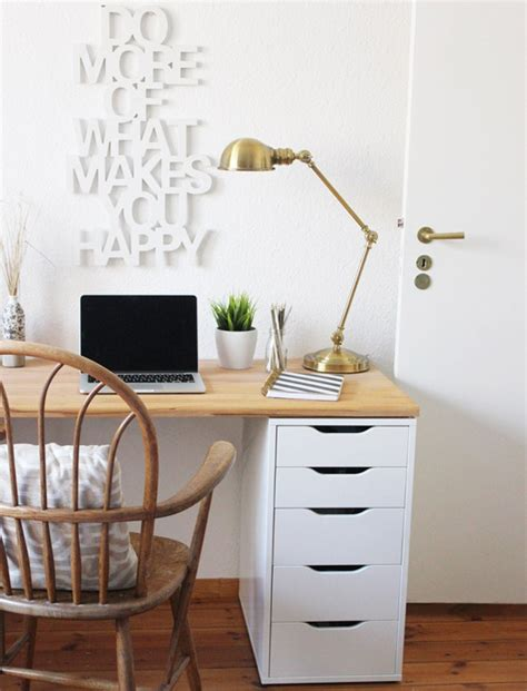 Diy Office Desk Ideas Diy Ikea Office Desk
