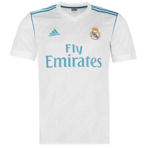 Jersey Real Madrid New 20172018 adidas adidas real madrid home shirt 2017 2018 real madrid football shirts