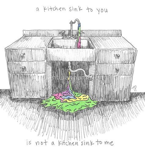 Kitchen Sink By Twenty One Pilots by Kitchen Sink By Twenty One Pilots Illustration Twenty