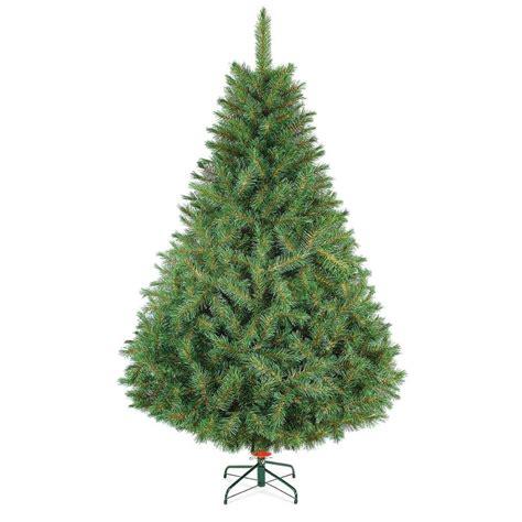 arbol de navidad naviplastic bavaro de lujo verde 220 cm