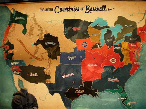 mlb map the countries of baseball billy