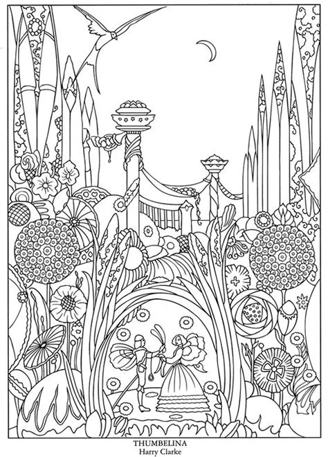 grimm tales coloring book different seasons welcome to dover publications color your own great